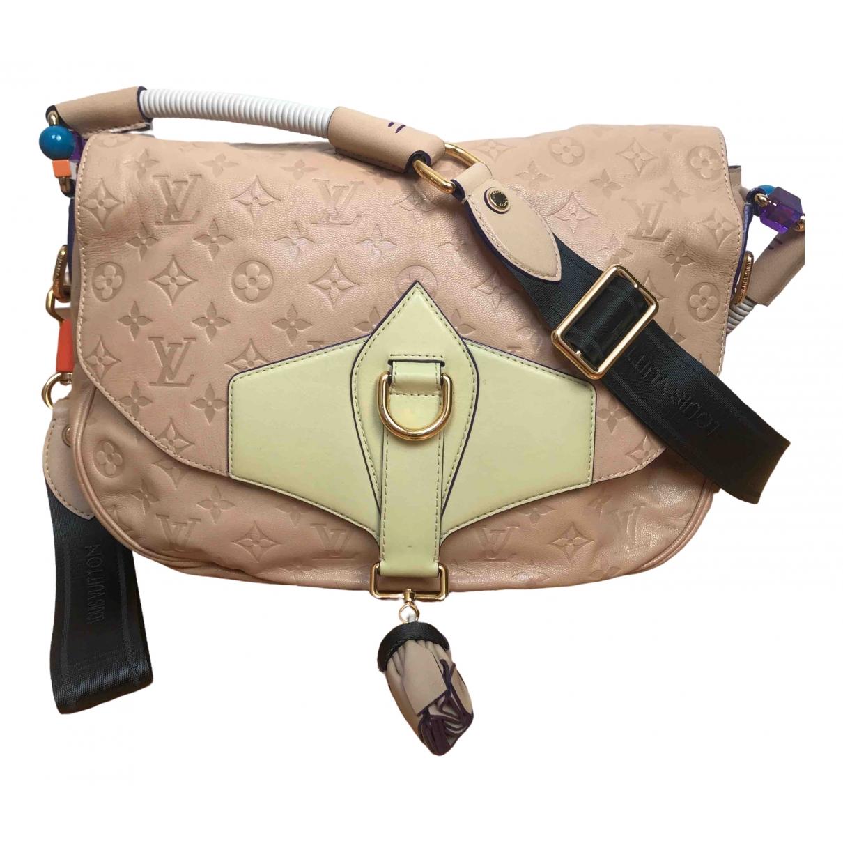 Louis Vuitton \N Beige Leather handbag for Women \N