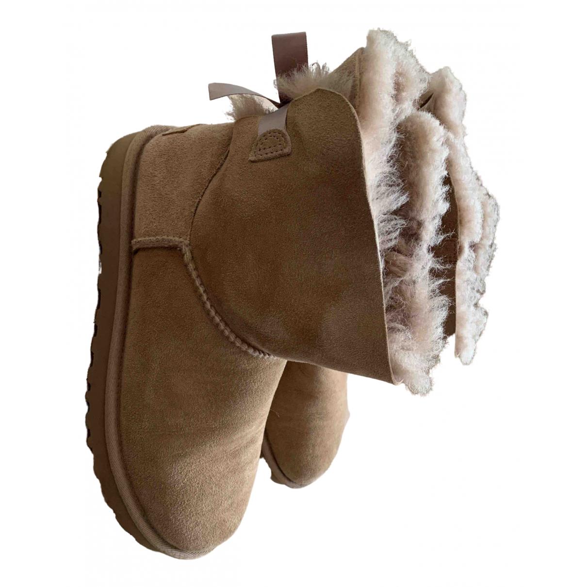 Ugg N Beige Suede Boots for Women 39 EU