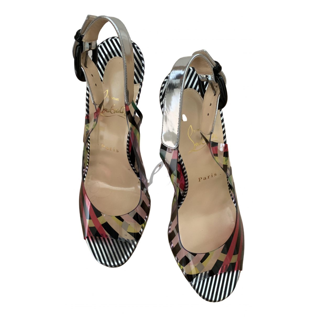 Christian Louboutin \N Multicolour Leather Sandals for Women 39.5 EU