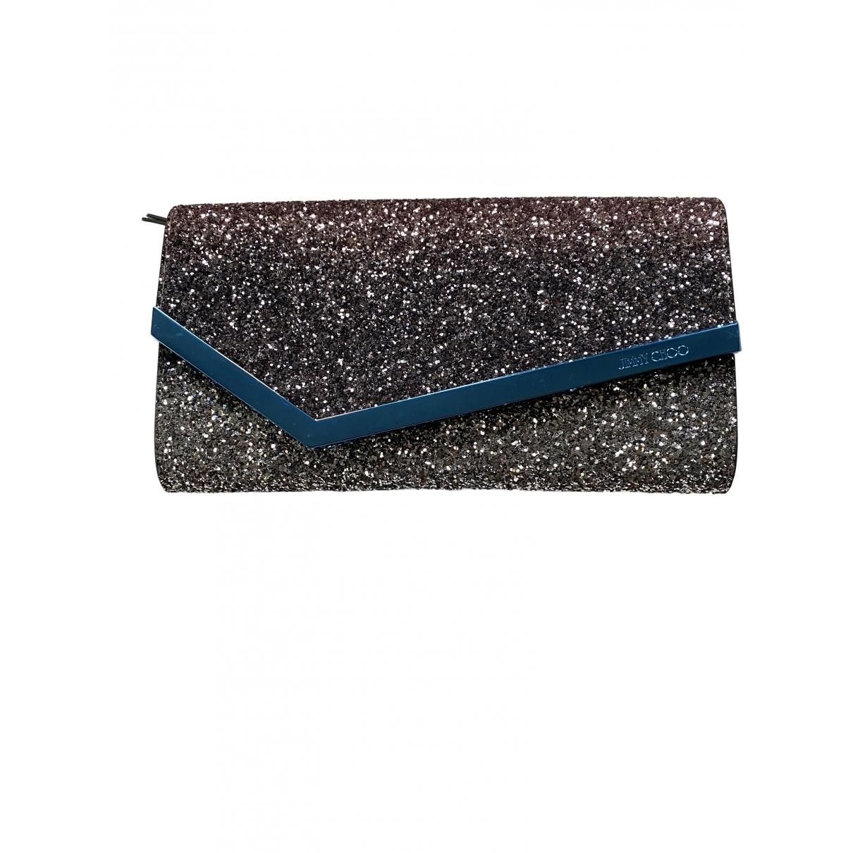 Jimmy Choo \N Metallic Glitter Clutch bag for Women \N