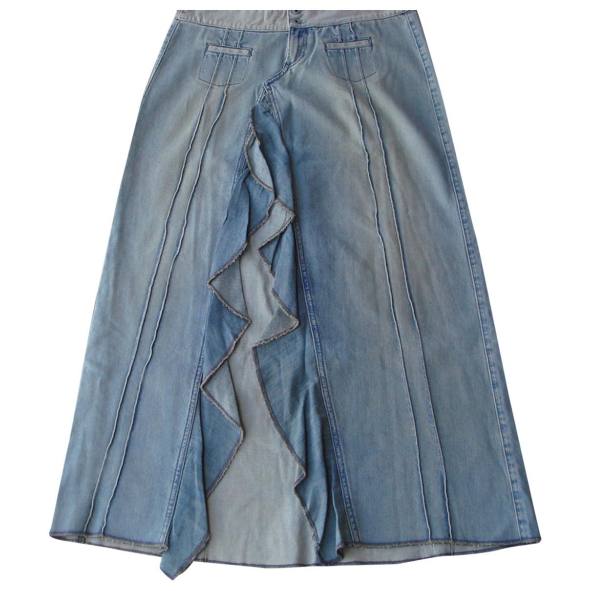 Guess \N Rocke in  Blau Denim - Jeans