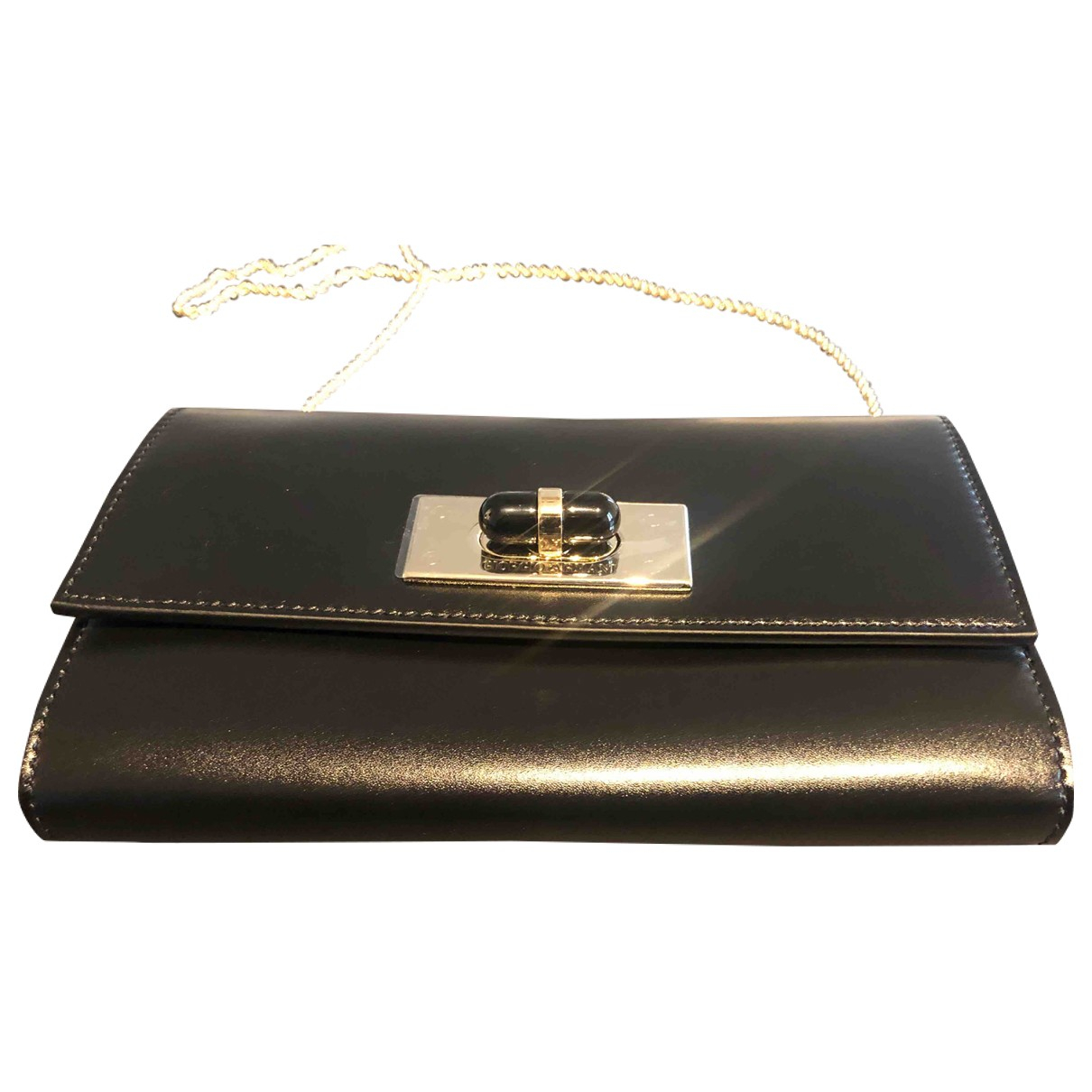 Giorgio Armani N Black Leather Clutch bag for Women N
