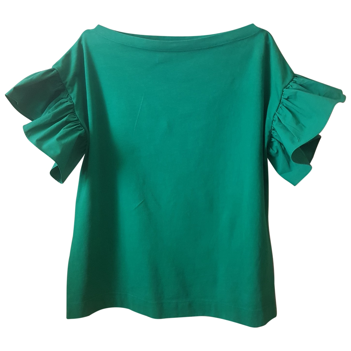 Attic And Barn \N Green Cotton  top for Women M International