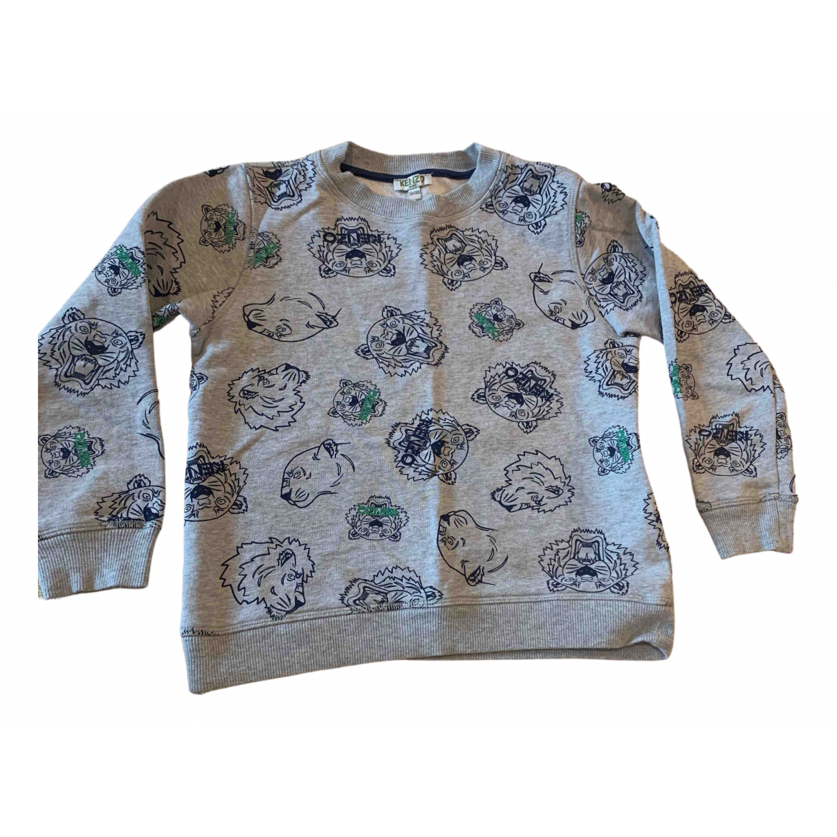 Kenzo \N Grey Cotton Knitwear for Kids 10 years - up to 142cm FR
