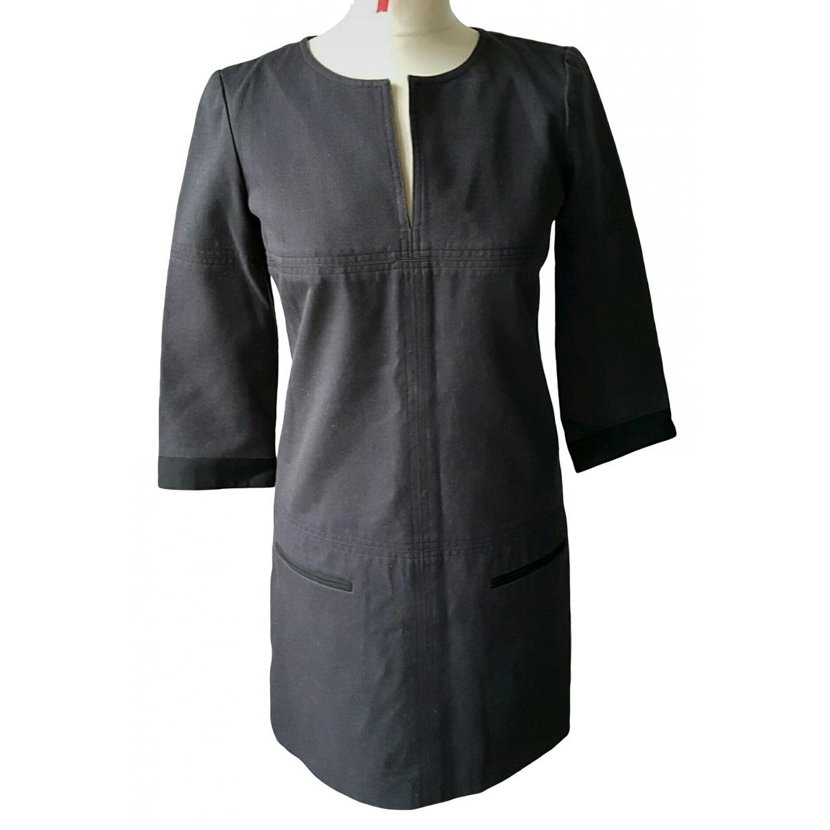 Comptoir Des Cotonniers \N Anthracite Cotton dress for Women 36 FR