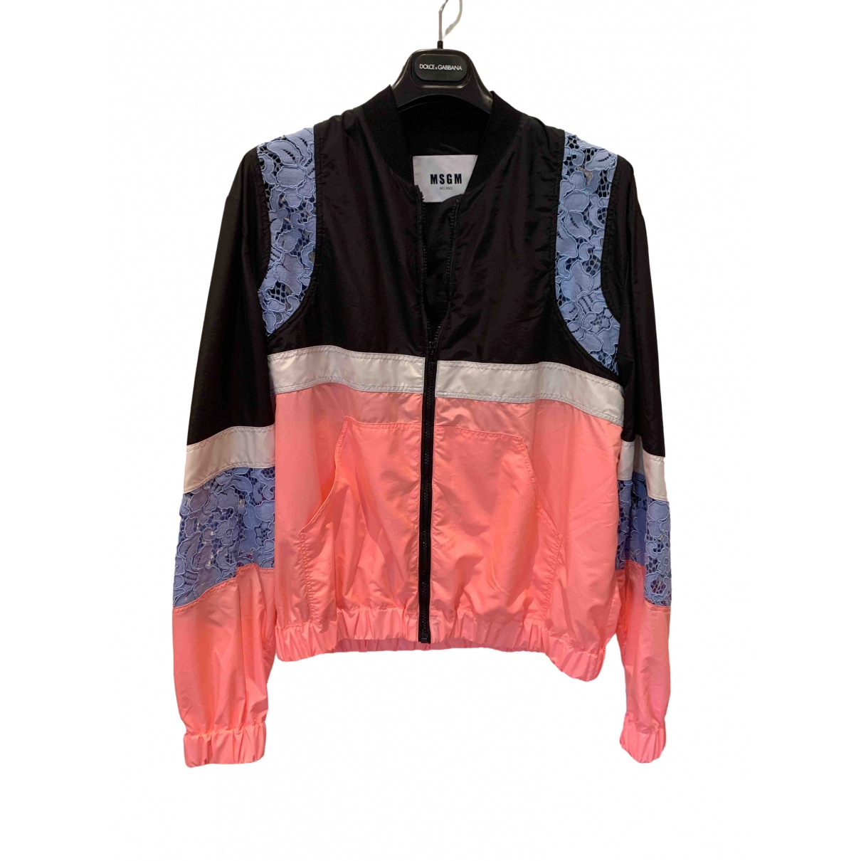 Msgm \N Blue jacket for Women 42 IT