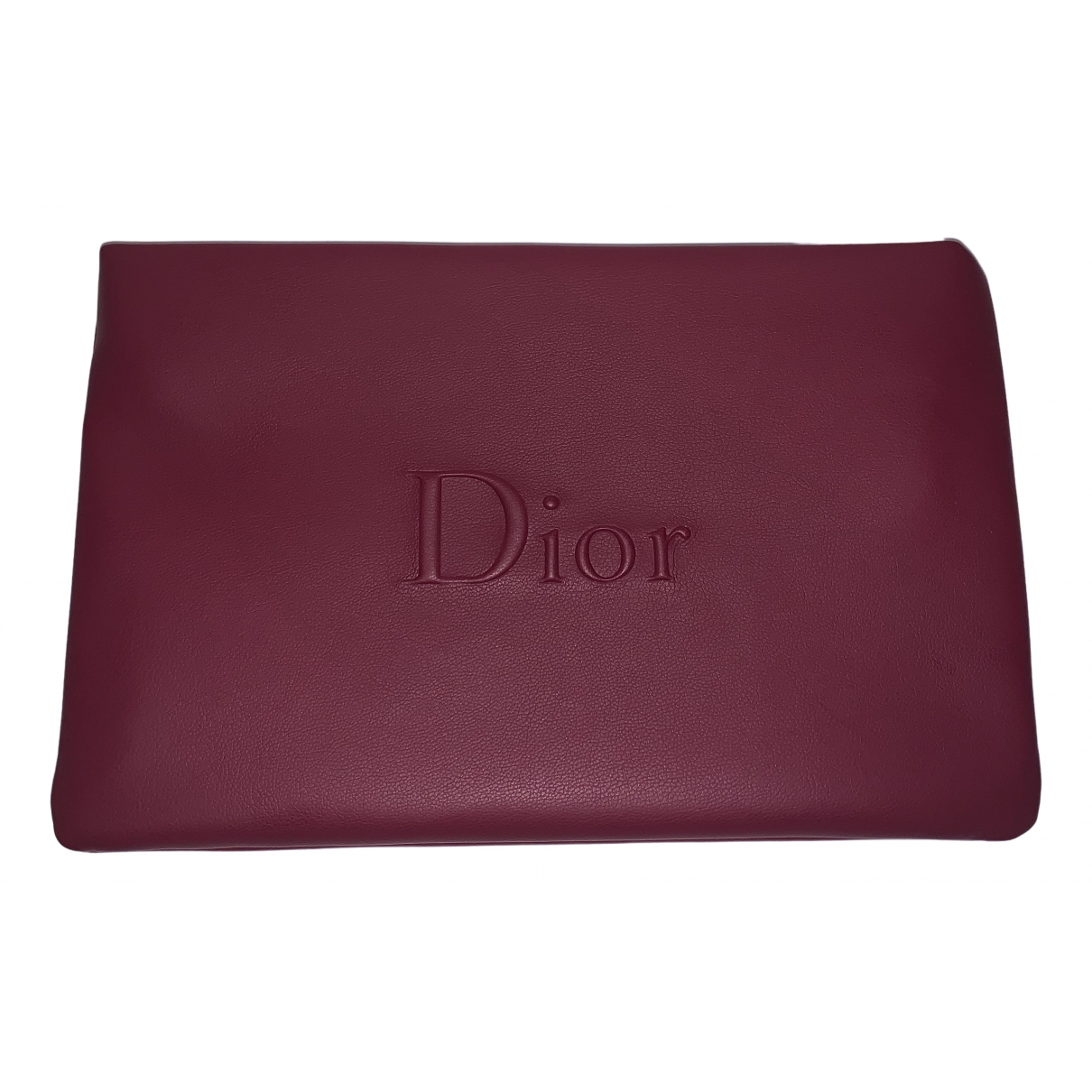 Dior \N Burgundy Travel bag for Women \N