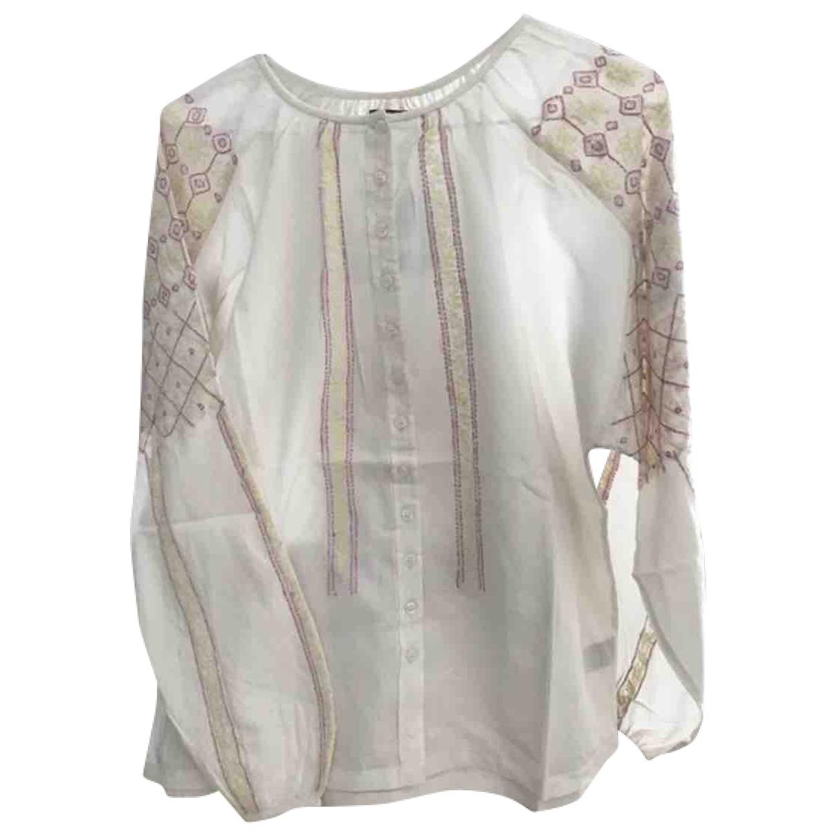 Antik Batik \N Ecru Cotton  top for Women 36 FR