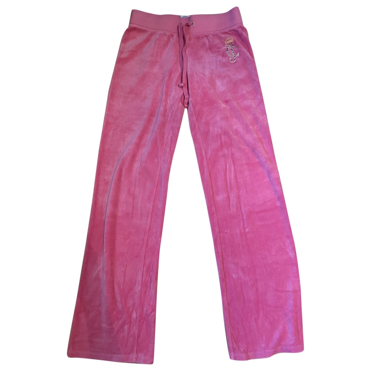Juicy Couture \N Pink Cotton Trousers for Women XS International