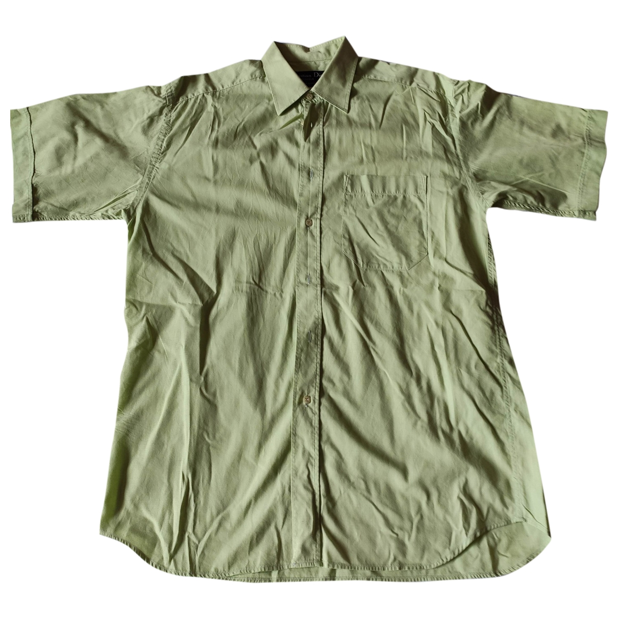 Dior \N Green Cotton Shirts for Men M International