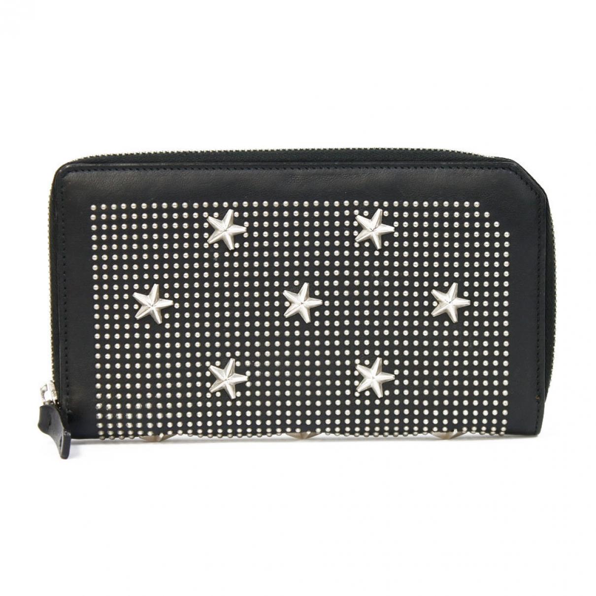 Jimmy Choo N Black Leather wallet for Women N