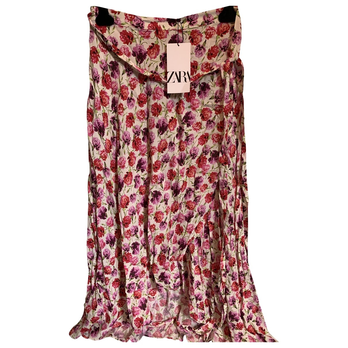 Zara - Jupe   pour femme - rose