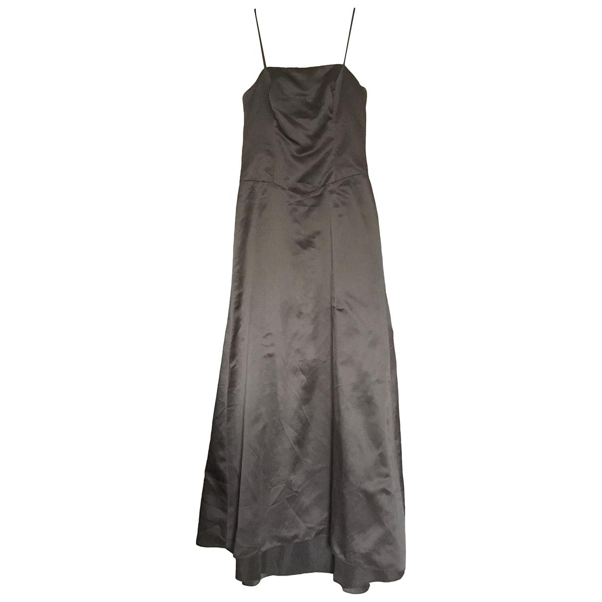 Vera Wang \N Kleid in  Braun Polyester