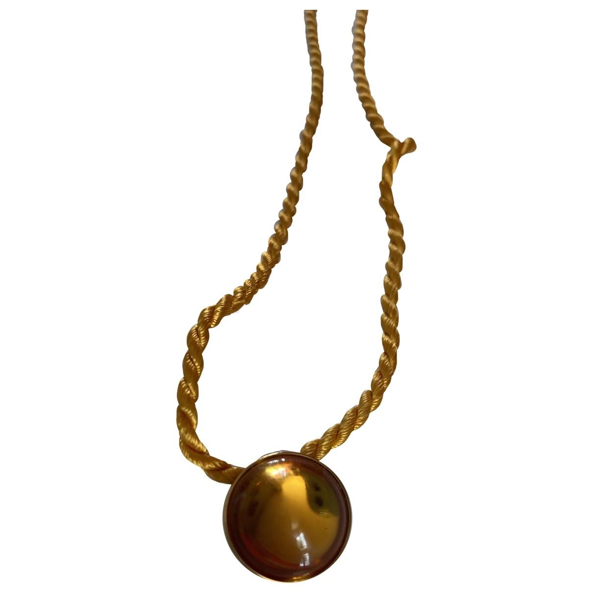 Lalique \N Kette in  Gelb Stahl