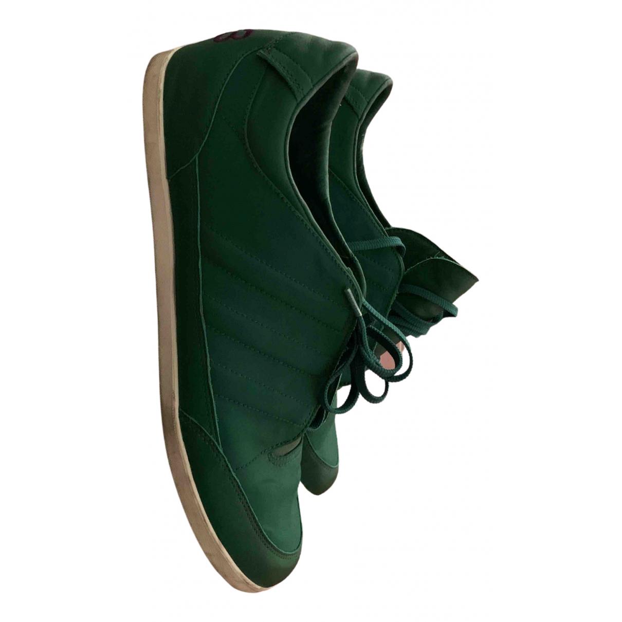 Y-3 \N Sneakers in  Gruen Leinen