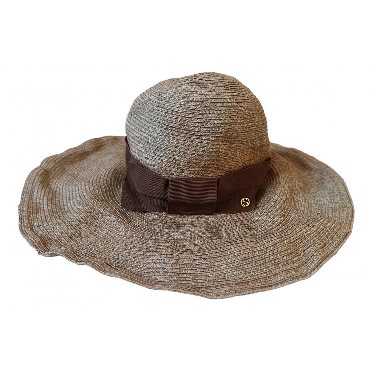 Gucci N Beige hat for Women S International