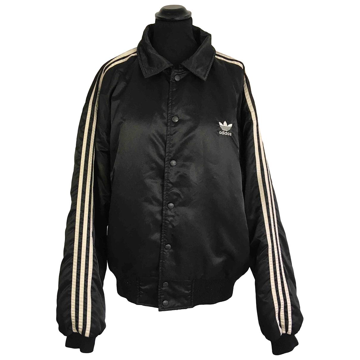 Adidas \N Jacke in  Schwarz Synthetik