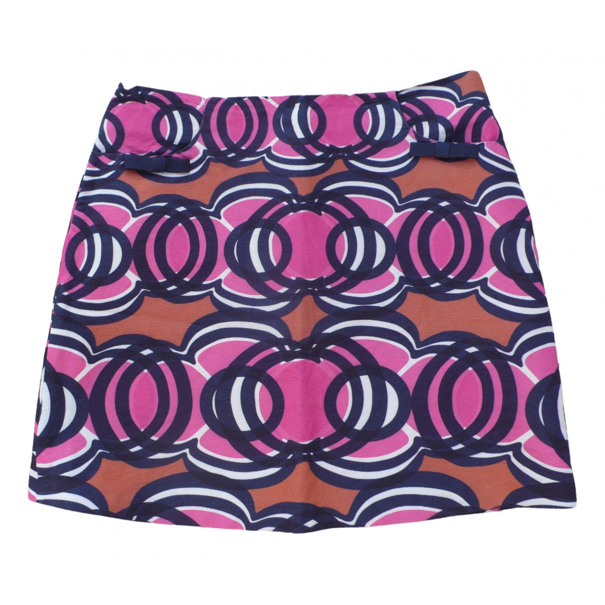 Tara Jarmon \N Multicolour Cotton skirt for Women 38 FR