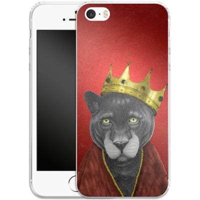 Apple iPhone SE Silikon Handyhuelle - The King Panther von Barruf