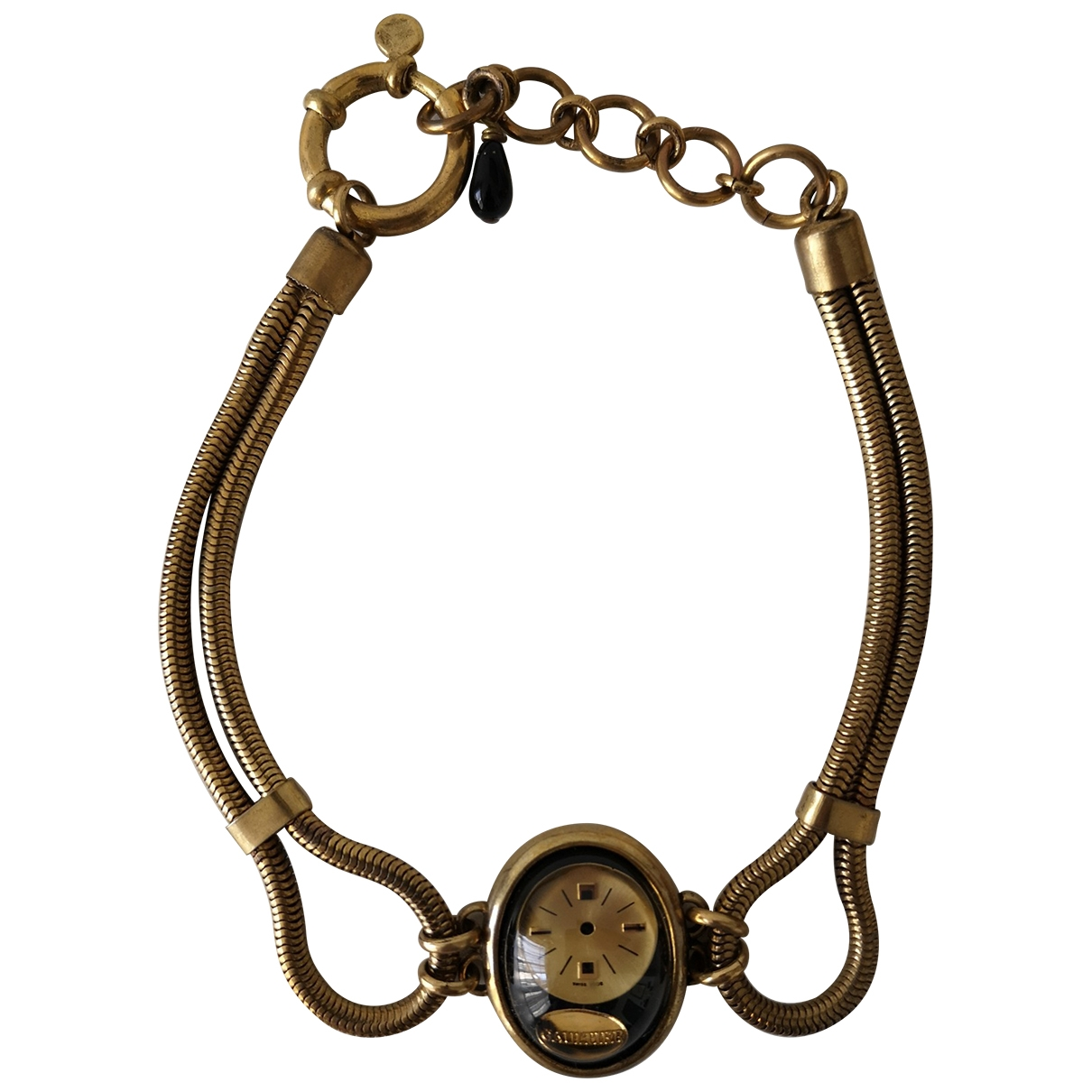 Jean Paul Gaultier - Collier   pour femme en metal - dore