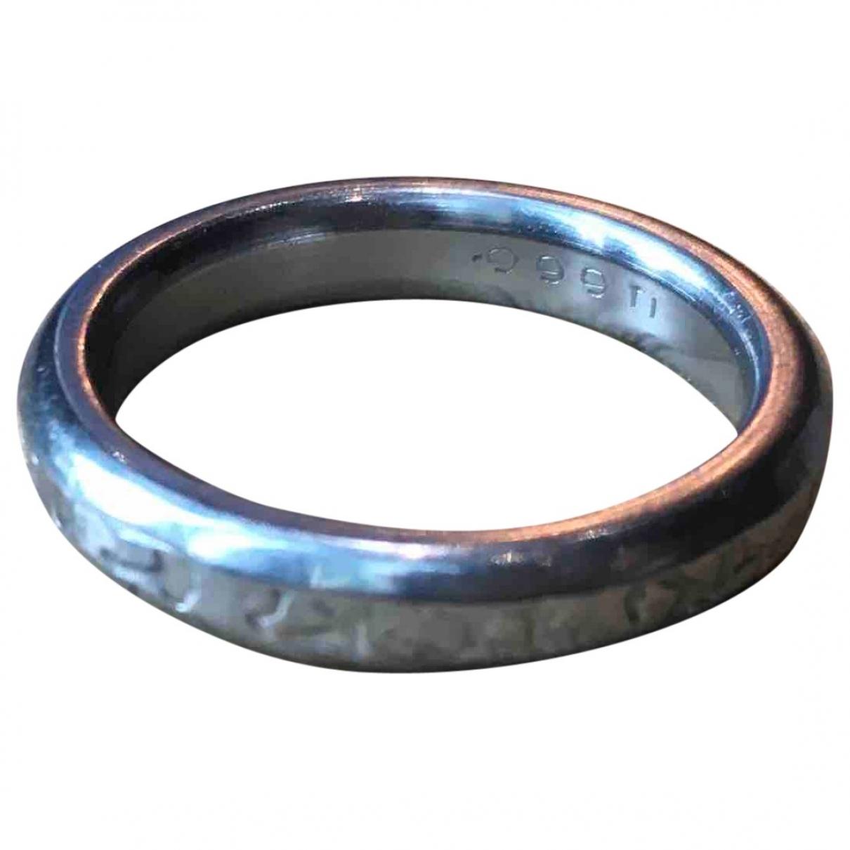 - Bague Alliance pour femme en metal - argente