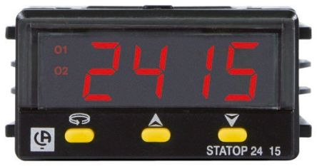 Pyro Controle STATOP 48 PID Temperature Controller, 2 Output, 90  260 V ac Supply Voltage