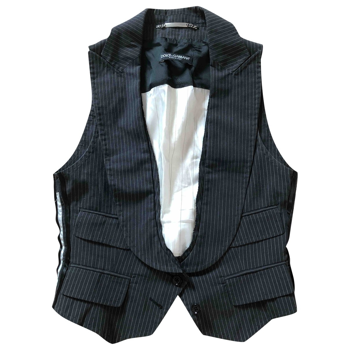 Dolce & Gabbana \N Pullover in  Grau Baumwolle