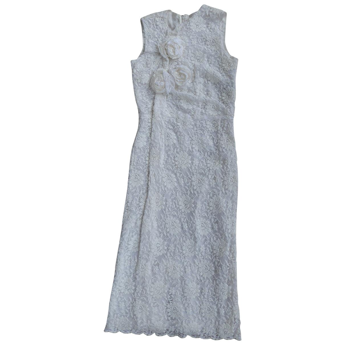 Comme Des Garcons \N White Cotton dress for Women S International