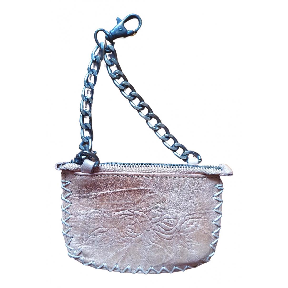 Zara \N Portemonnaie in  Beige Leder