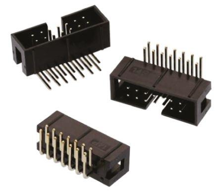 Wurth Elektronik , WR-BHD, 26 Way, 2 Row, Right Angle PCB Header (5)