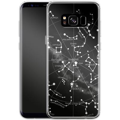 Samsung Galaxy S8 Silikon Handyhuelle - Constellations von Terry Fan