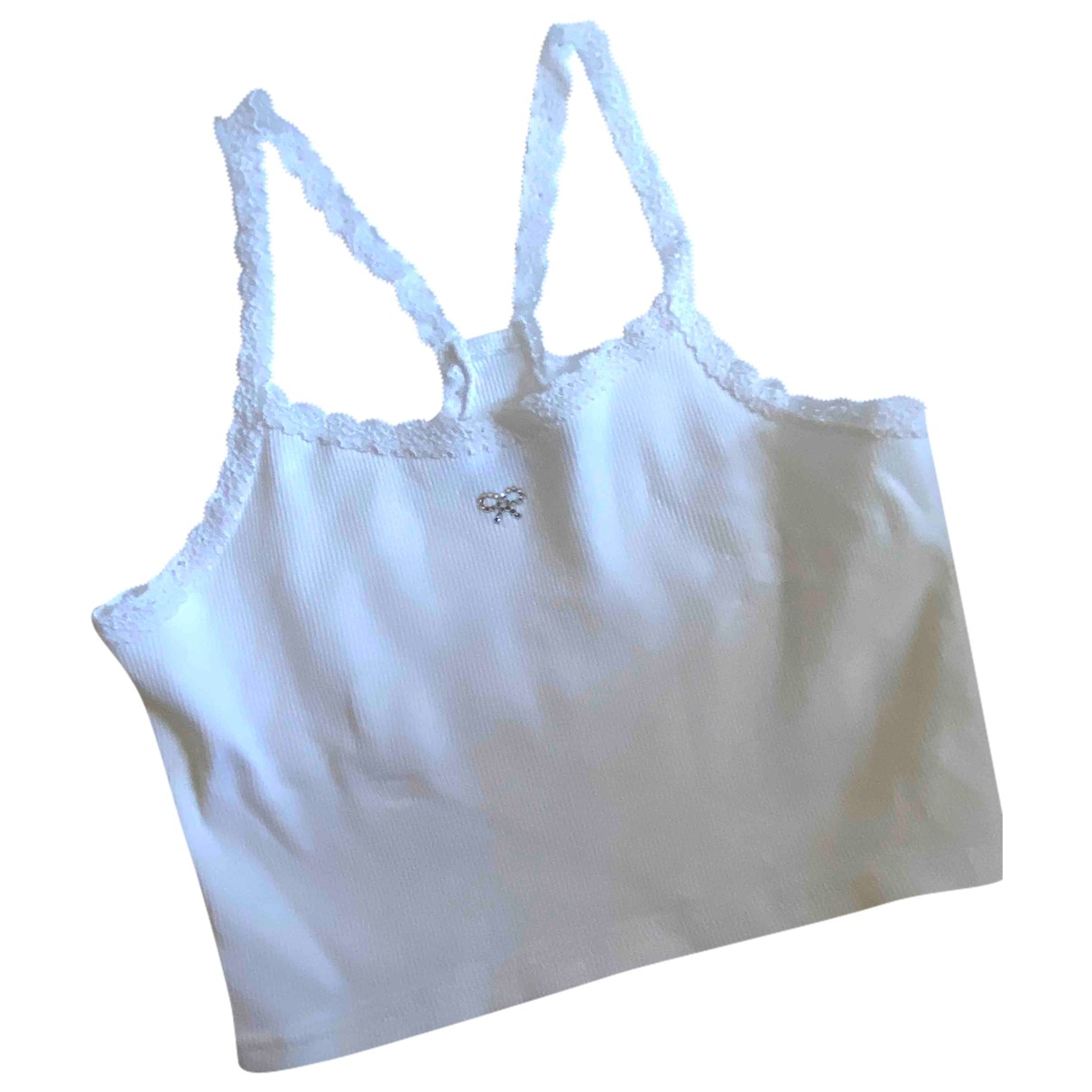 Jigsaw \N White Cotton  top for Kids 6 years - up to 114cm FR