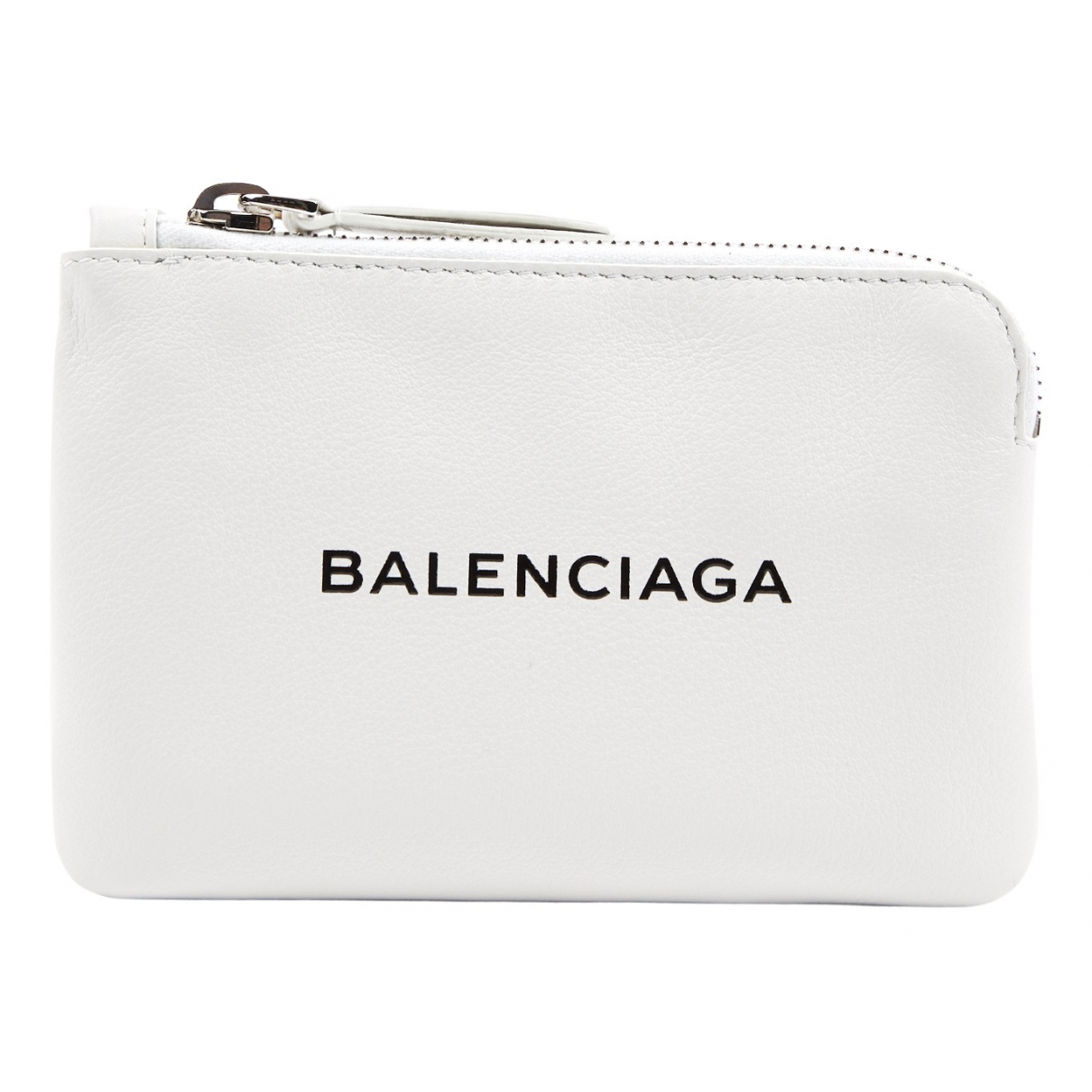 Balenciaga \N Kleinlederwaren in  Weiss Leder