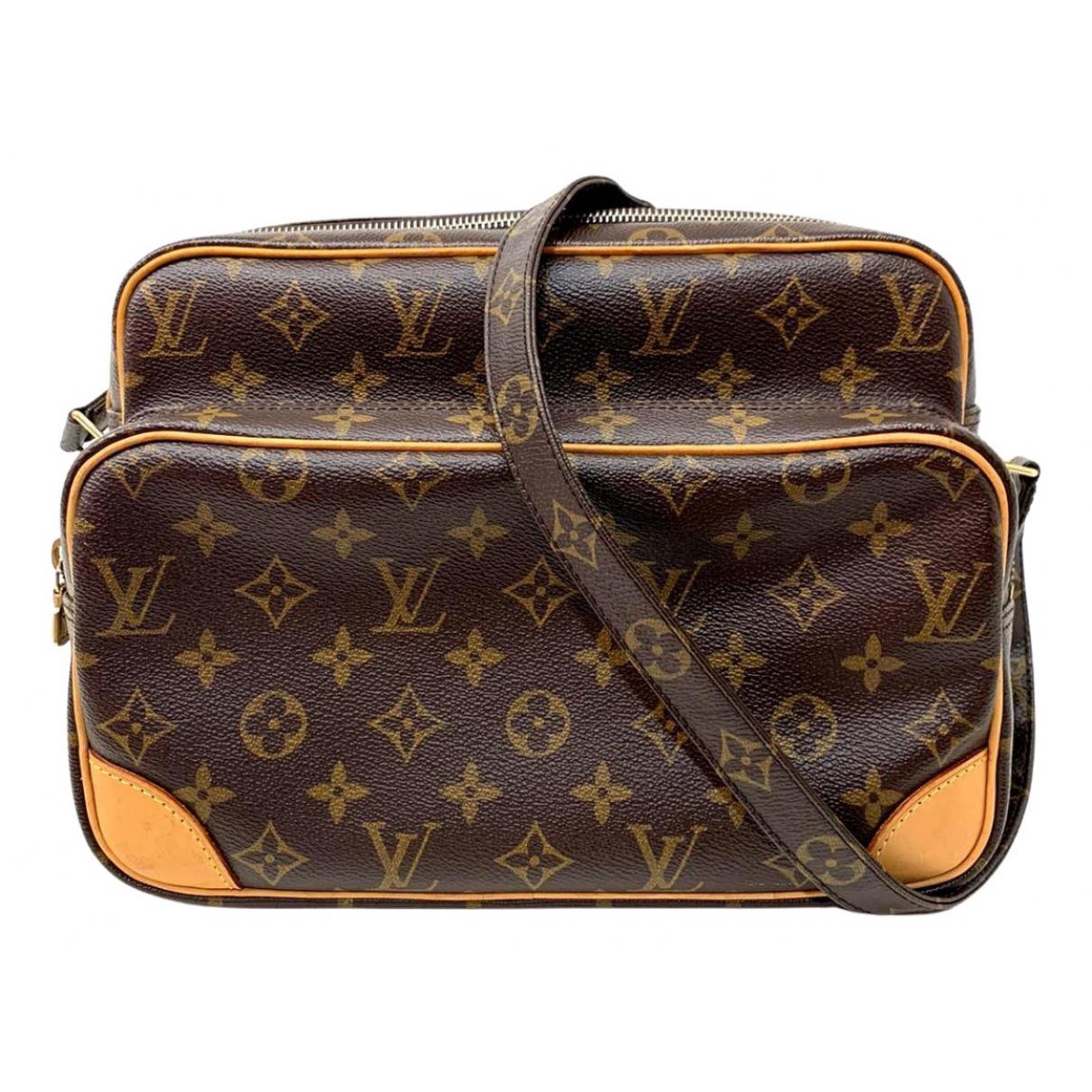 Louis Vuitton Nile Brown Cloth handbag for Women \N