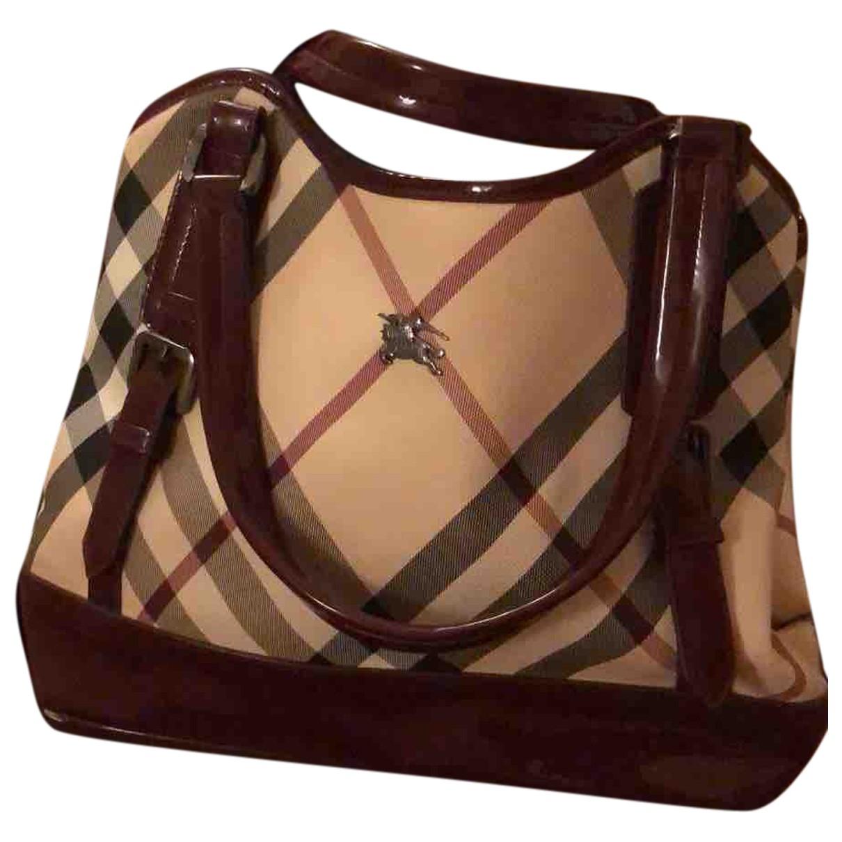 Burberry \N Handtasche in Baumwolle