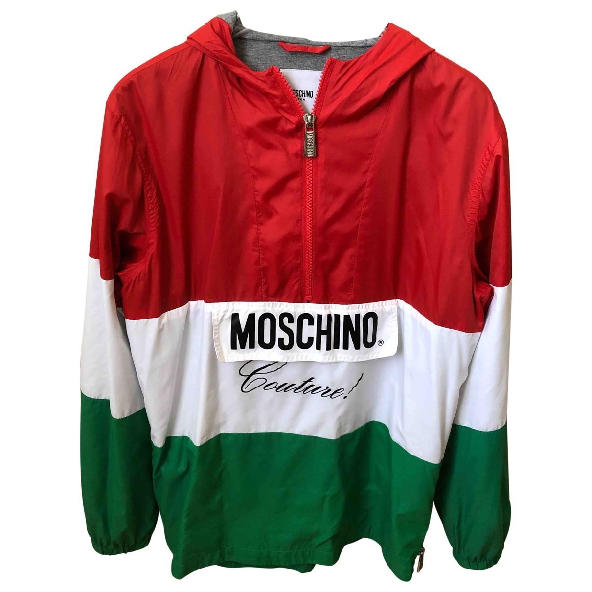 Moschino \N Jacke, Maentel in  Bunt Synthetik