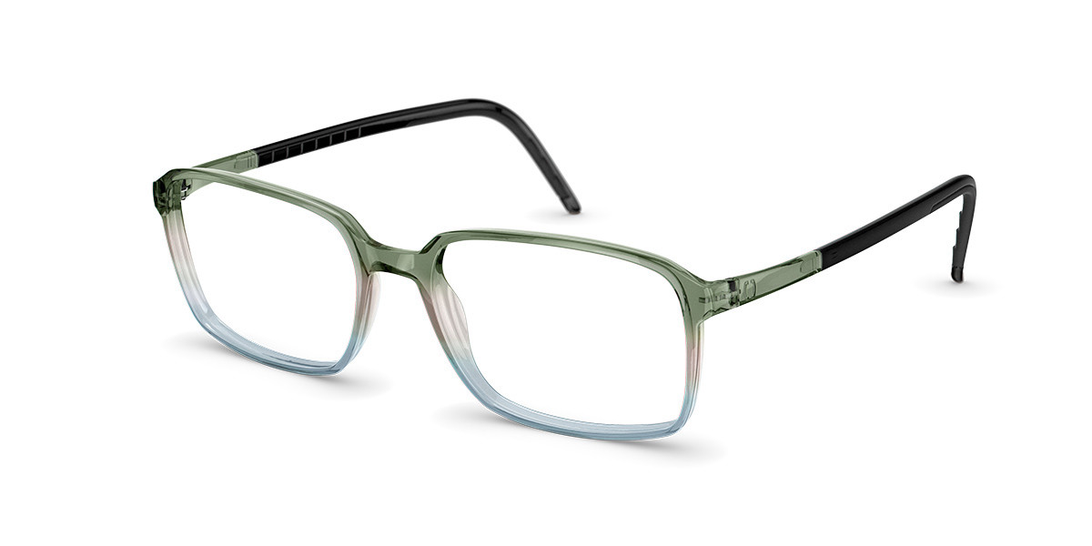 Neubau T085 Mario 5500 Mens Glasses Green Size 53 - Free Lenses - HSA/FSA Insurance - Blue Light Block Available
