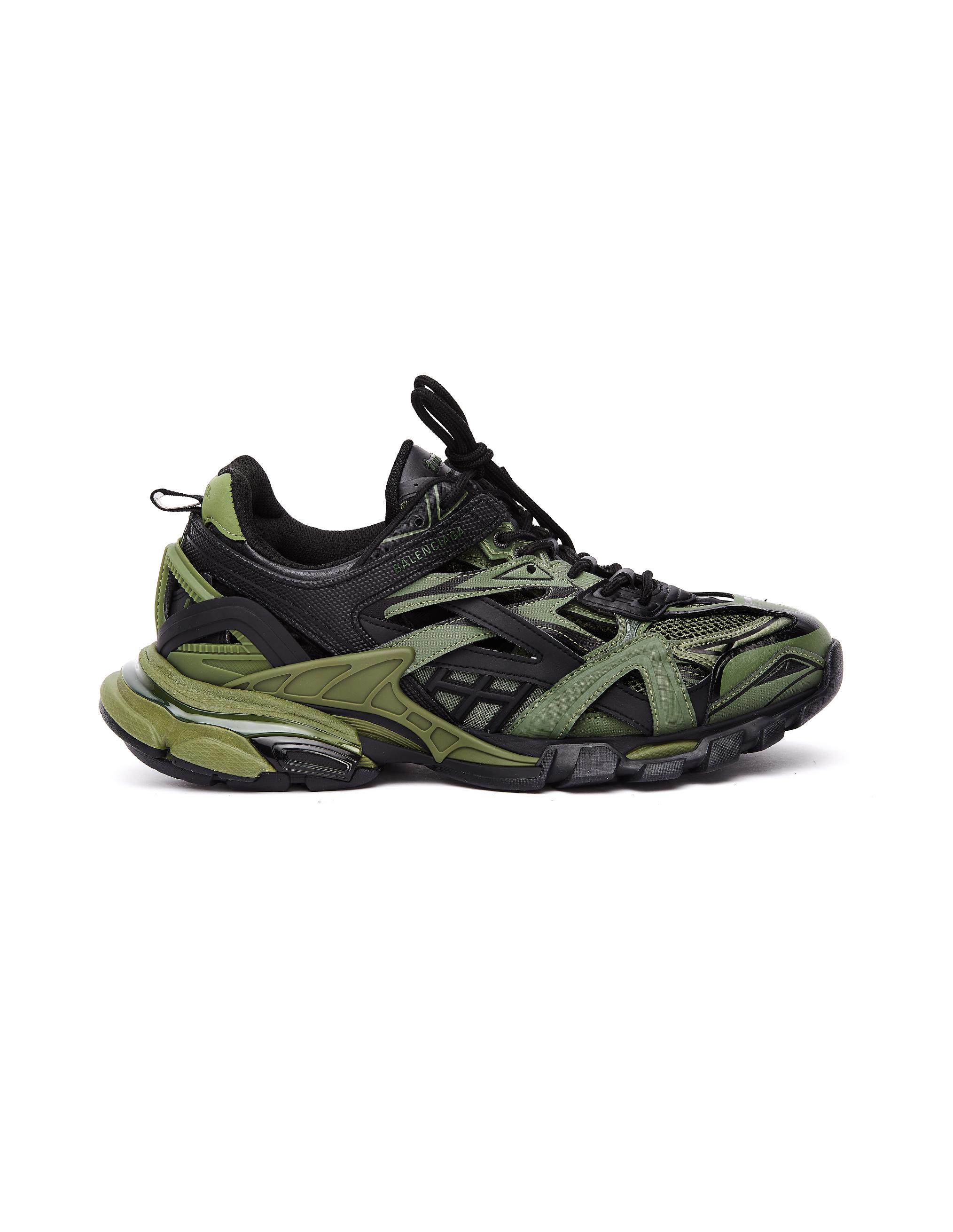 Balenciaga Khaki Track 2 Sneakers
