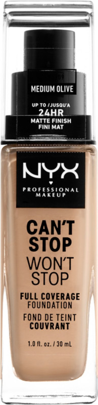 Can't Stop Won't Stop Foundation - Medium Olive (nude beige w/ neutral undertone)