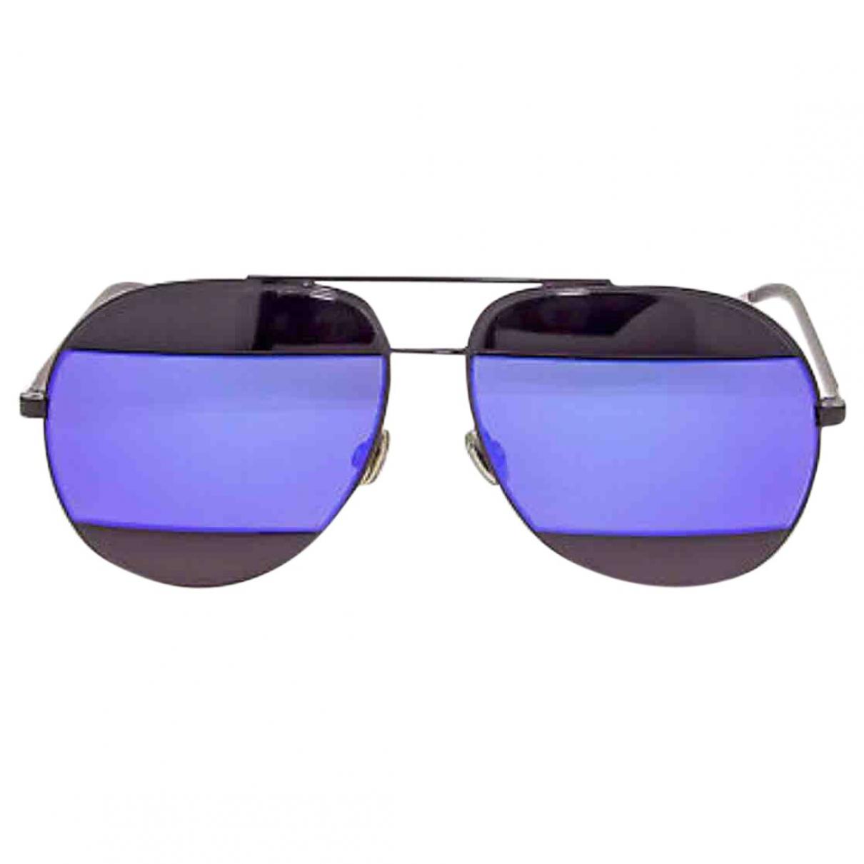 Dior Split Sonnenbrillen in  Lila Metall