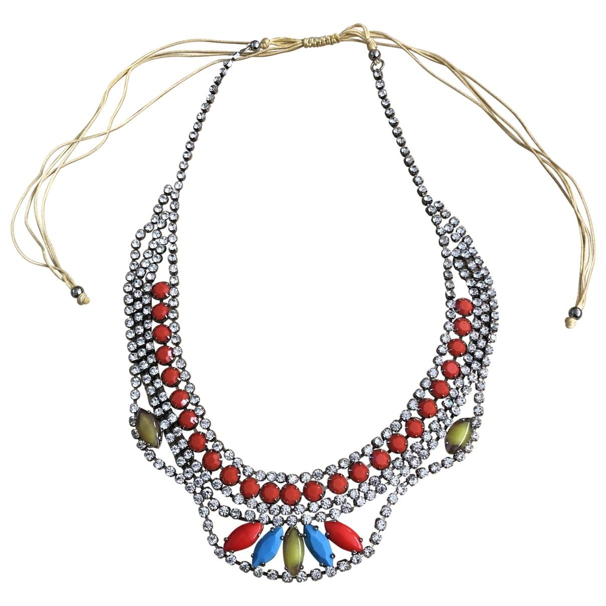 - Collier   pour femme en cristal - multicolore