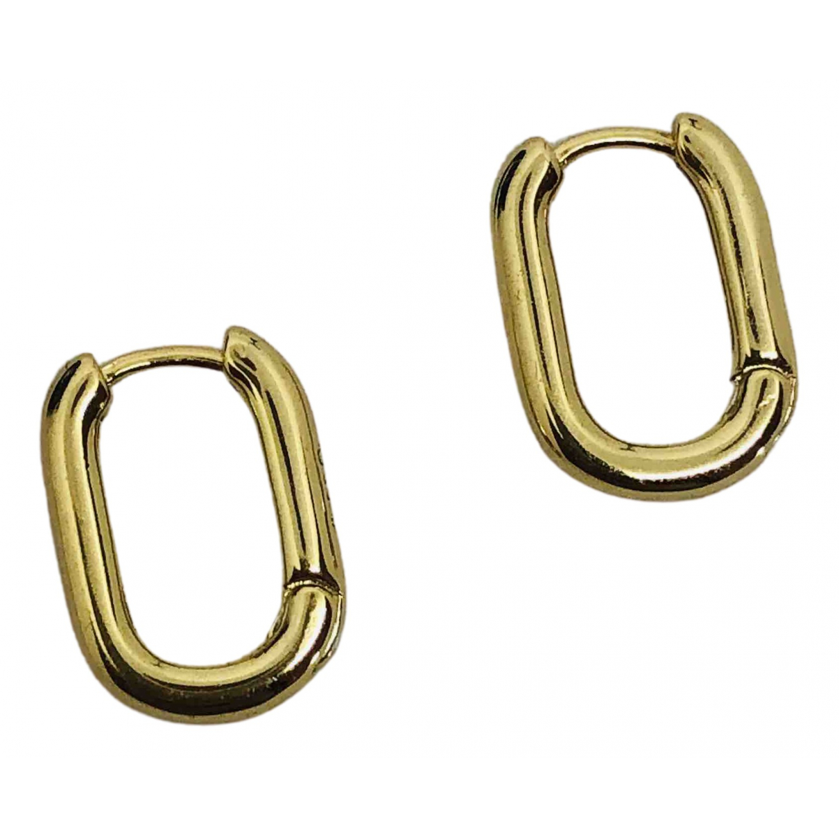 No Collection - Boucles doreilles   pour femme en argent - dore