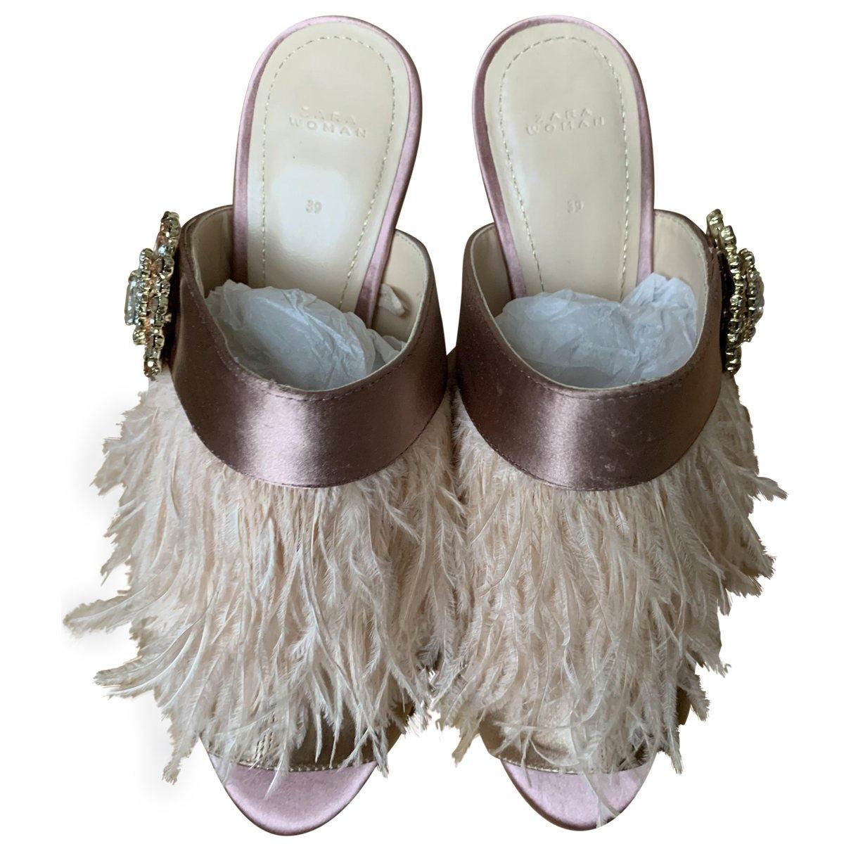 Sandalias de Lona Zara