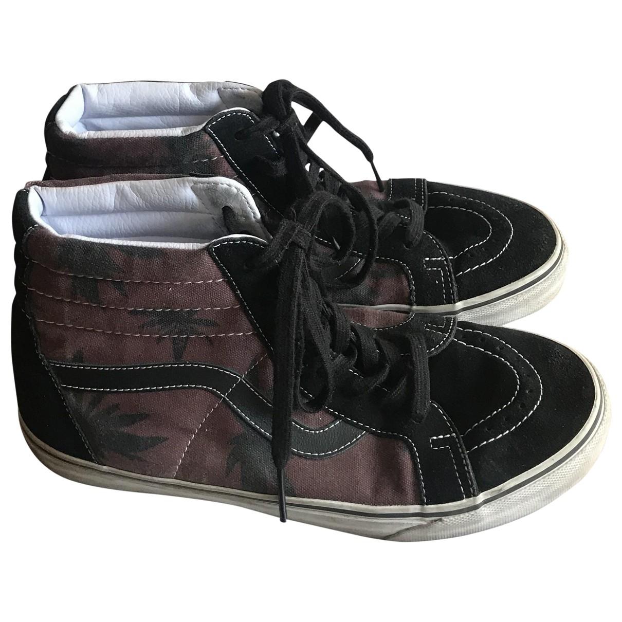 Vans \N Sneakers in  Bordeauxrot Polyester