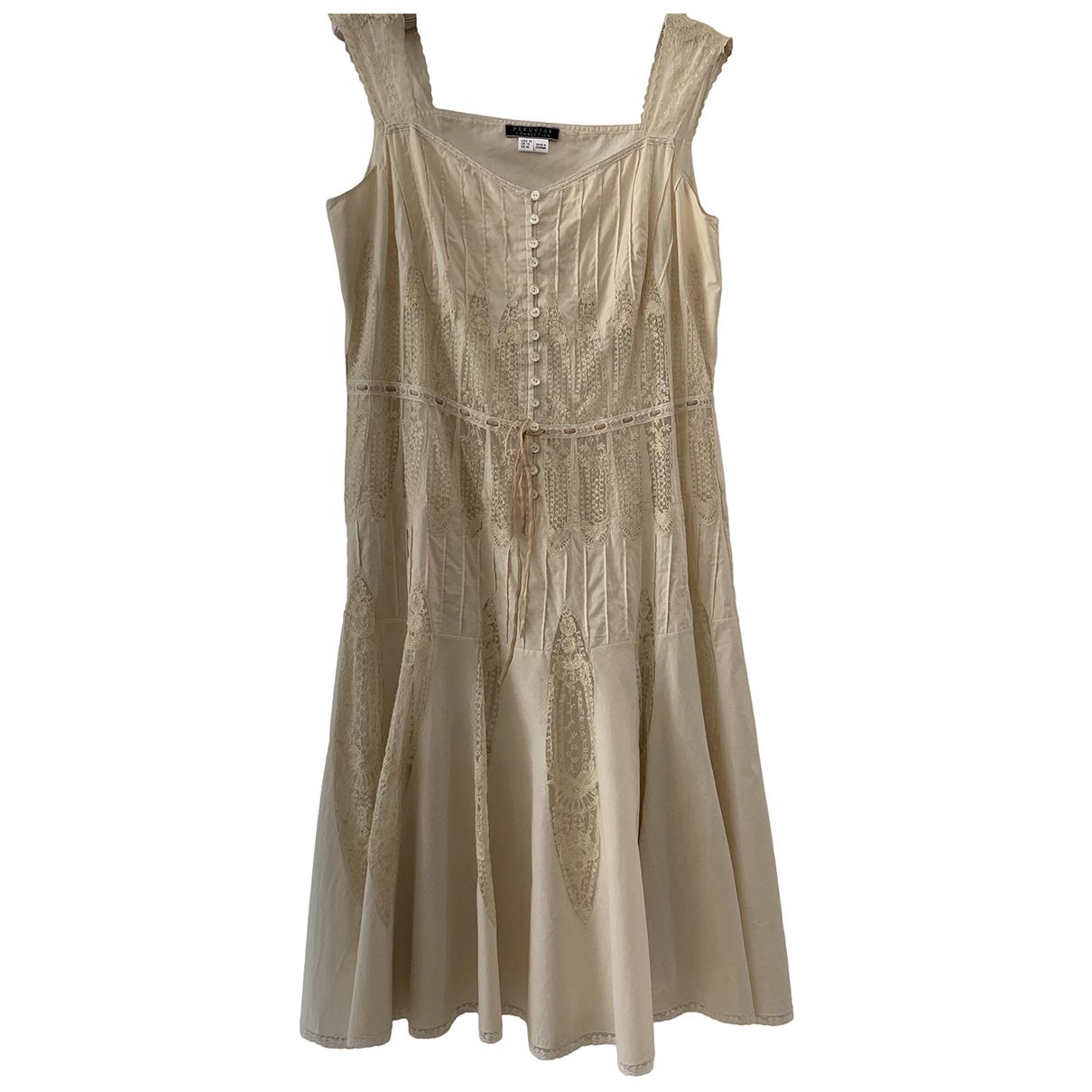 Non Signe / Unsigned \N Kleid in Baumwolle