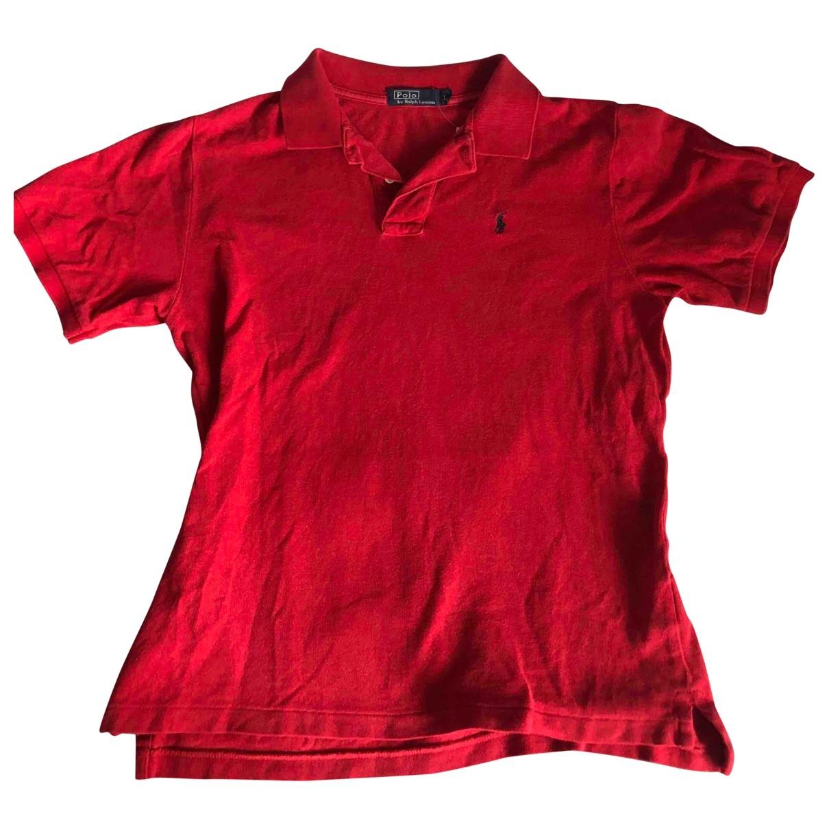 Polo en Algodon Rojo Polo Ralph Lauren