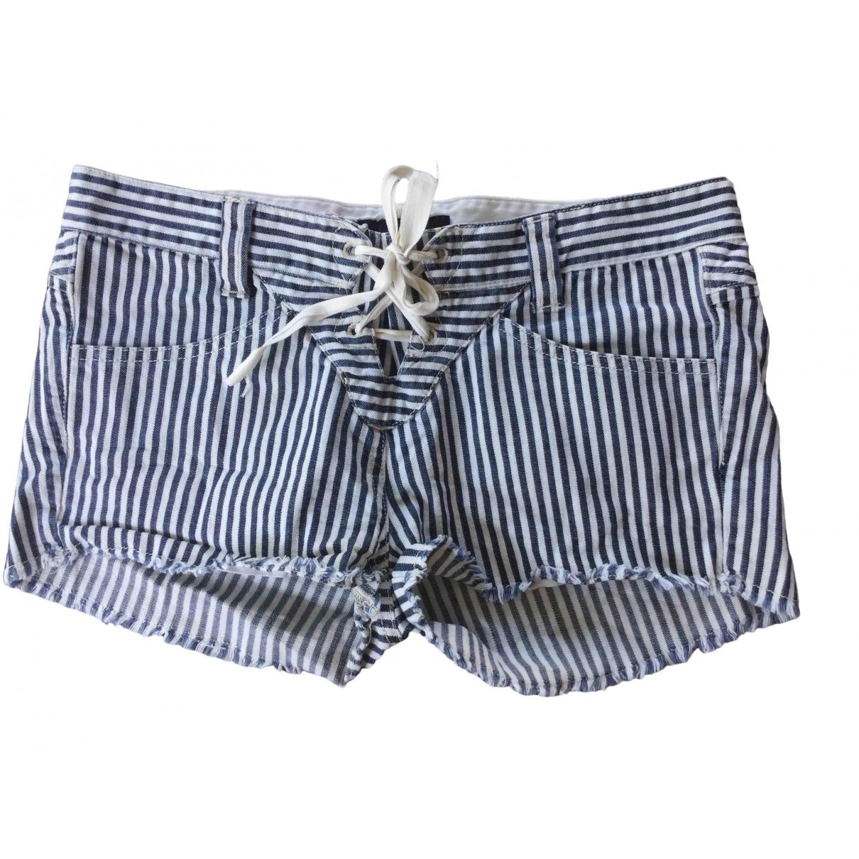 Isabel Marant \N Shorts in  Marine Baumwolle - Elasthan
