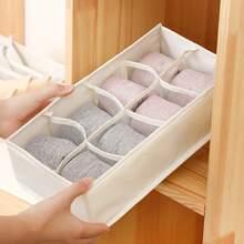 1 pieza caja de calcetines 8 cuadros