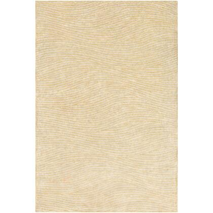 Quartz QTZ-5032 8' x 10' Rectangle Modern Rug in Butter  Light