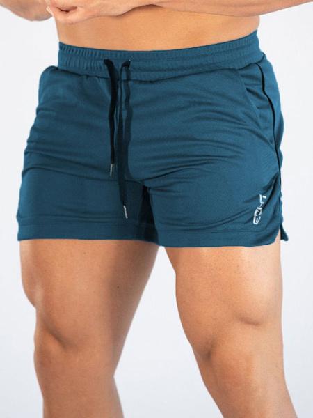 Milanoo Men Athletic Mesh Shorts Quick Dry Basketball Running Shorts Gym Training Workout Shorts With Pockets